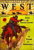 West (1926-1953 Doubleday) Pulp Vol. 23 #3