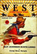 West (1926-1953 Doubleday) Pulp Vol. 23 #4