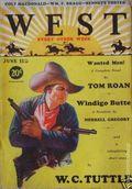 West (1926-1953 Doubleday) Pulp Vol. 25 #2