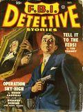 FBI Detective Stories (1949-1951 Popular Publications) Pulp Vol. 2 #1