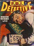 FBI Detective Stories (1949-1951 Popular Publications) Pulp Vol. 4 #2