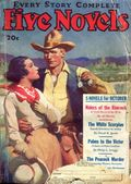 Five-Novels Monthly/Magazine (1928-1948 Clayton/Dell) Pulp Vol. 28 #1
