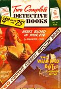 Two Complete Detective Books (1939-1954 Fiction House) Pulp 26
