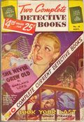 Two Complete Detective Books (1939-1954 Fiction House) Pulp 28