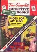 Two Complete Detective Books (1939-1954 Fiction House) Pulp 59