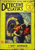 Detective Classics (1929 Fiction House) Pulp 1st Series Vol. 2 #9