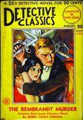 Detective Classics (1929 Fiction House) Pulp 1st Series Vol. 3 #1
