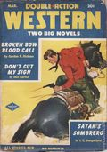 Double Action Western Magazine (1934-1960 Columbia) Vol. 19 #4