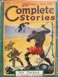 Complete Stories (1926-1931 Street & Smith) Pulp 1st Series Vol. 11 #4