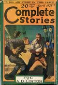Complete Stories (1926-1931 Street & Smith) Pulp 1st Series Vol. 12 #3