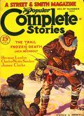 Popular Complete Stories (1931-1932 Street & Smith) Pulp Vol. 26 #2
