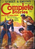 Street and Smith's Complete Stories (1932-1935 Street & Smith) Pulp 2nd Series Vol. 30 #3