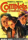 Street and Smith's Complete Stories (1932-1935 Street & Smith) Pulp 2nd Series Vol. 33 #1