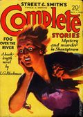 Street and Smith's Complete Stories (1932-1935 Street & Smith) Pulp 2nd Series Vol. 33 #3