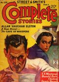 Street and Smith's Complete Stories (1932-1935 Street & Smith) Pulp 2nd Series Vol. 38 #1