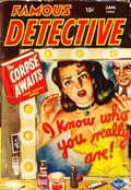 Famous Detective (1949-1956 Columbia Publications) Pulp Vol. 10 #6