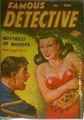 Famous Detective (1949-1956 Columbia Publications) Pulp Vol. 11 #1
