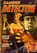 Famous Detective (1949-1956 Columbia Publications) Pulp Vol. 15 #1