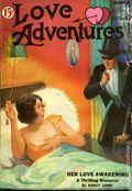 Love Adventures (1933-1934 Clayton Magazines) Pulp Vol. 1 #1