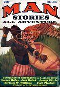Man Stories (1930-1931 Metropolitan) Pulp Vol. 2 #2