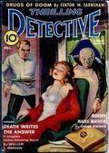 Thrilling Detective (1931-1953 Standard) Pulp Vol. 34 #1