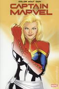 Color Your Own Captain Marvel SC (2019 Marvel) 1-1ST