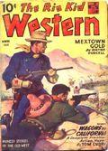 Rio Kid Western (1939-1953 Standard) Pulp Vol. 10 #1