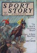 Sport Story Magazine (1923-1943 Street & Smith) Pulp Vol. 9 #1