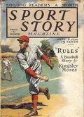 Sport Story Magazine (1923-1943 Street & Smith) Pulp Vol. 13 #1
