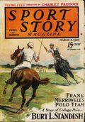 Sport Story Magazine (1923-1943 Street & Smith) Pulp Vol. 19 #1
