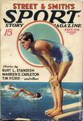 Sport Story Magazine (1923-1943 Street & Smith) Pulp Vol. 36 #5