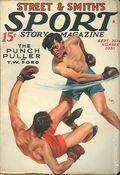 Sport Story Magazine (1923-1943 Street & Smith) Pulp Vol. 36 #6
