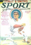 Sport Story Magazine (1923-1943 Street & Smith) Pulp Vol. 39 #1