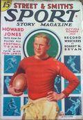 Sport Story Magazine (1923-1943 Street & Smith) Pulp Vol. 41 #1