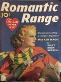 Romantic Range (1936-1938 Street & Smith) Pulp Vol. 5 #4