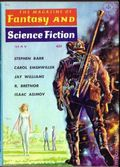 Fantasy and Science Fiction (1949-Present Mercury Publications) Pulp Vol. 20 #5