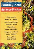 Fantasy and Science Fiction (1949-Present Mercury Publications) Pulp Vol. 21 #1