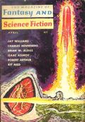 Fantasy and Science Fiction (1949-Present Mercury Publications) Pulp Vol. 22 #4
