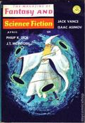 Fantasy and Science Fiction (1949-Present Mercury Publications) Pulp Vol. 30 #4