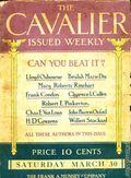 Cavalier (1908-1914 Frank A. Munsey) Pulp Vol. 14 #1