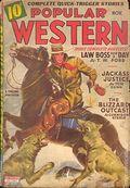 Popular Western (1934-1953 Better Publications) Pulp Vol. 29 #3