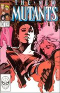 New Mutants (1983 1st Series) Mark Jewelers 62MJ