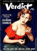 Verdict (1953 Flying Eagle Publications) Pulp 1st Series Vol. 1 #1