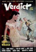 Verdict (1953 Flying Eagle Publications) Pulp 1st Series Vol. 1 #2