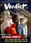 Verdict (1953 Flying Eagle Publications) Pulp 1st Series Vol. 1 #3