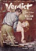 Verdict (1953 Flying Eagle Publications) Pulp 1st Series Vol. 1 #4