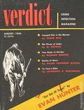 Verdict Crime Detection Magazine (1956-1957 Flying Eagle Publications) Pulp 2nd Series Vol. 1 #1