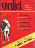 Verdict Crime Detection Magazine (1956-1957 Flying Eagle Publications) Pulp 2nd Series Vol. 2 #1