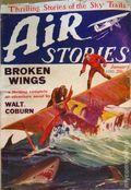 Air Stories (1927-1939 Fiction House) Pulp Vol. 1 #6