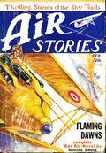 Air Stories (1927-1939 Fiction House) Pulp Vol. 1 #7